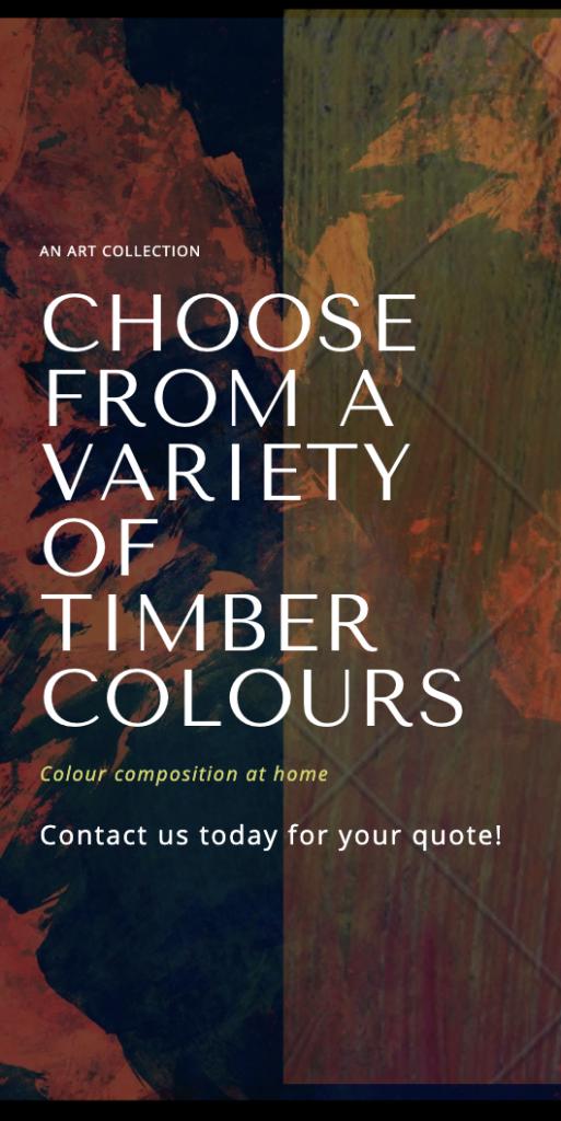 Timber colour